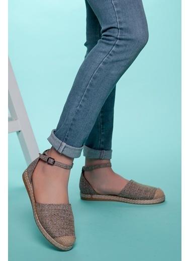 Muggo Espadril Ayakkabı Vizon